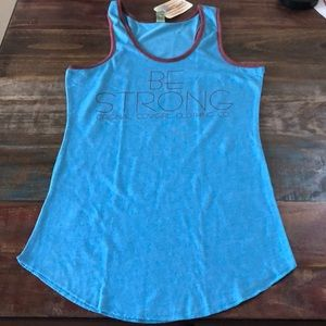 NWT Original Cowgirl Company Be Strong Tank